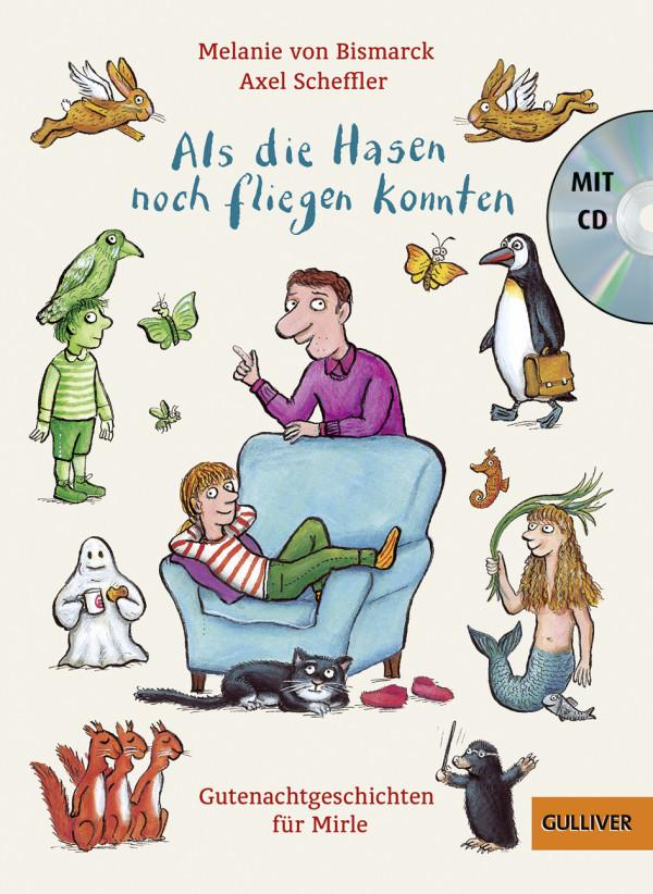 Als die Hasen noch fliegen konnten: Gutenachtgeschichten für Mirle book cover