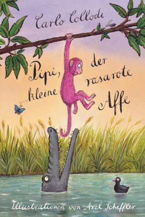 Pipi, der kleine rosarote Affe book cover