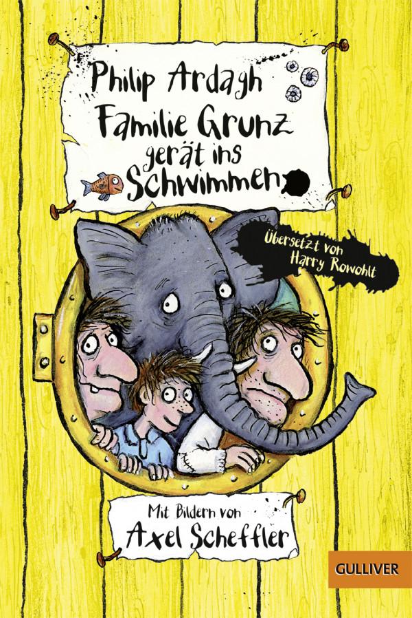 Familie Grunz gerät ins Schwimmen book cover