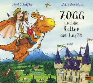 Zogg und die Retter der Lüfte book cover
