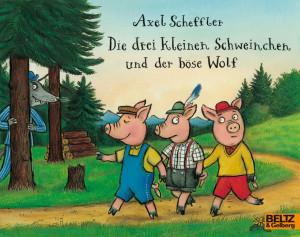 Die drei kleinen Schweinchen und der böse Wolf book cover