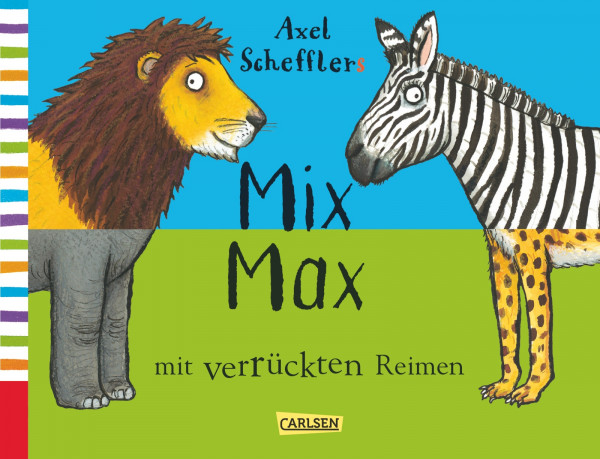 Mix Max mit verrückten Reimen book cover