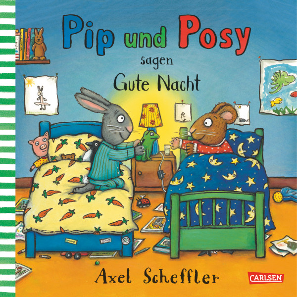 Pip und Posy sagen Gute Nacht book cover