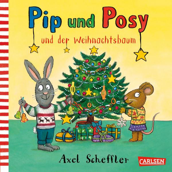 Pip und Posy und der Weihnachtsbaum book cover