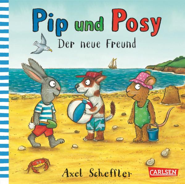 Pip und Posy: Der neue Freund book cover