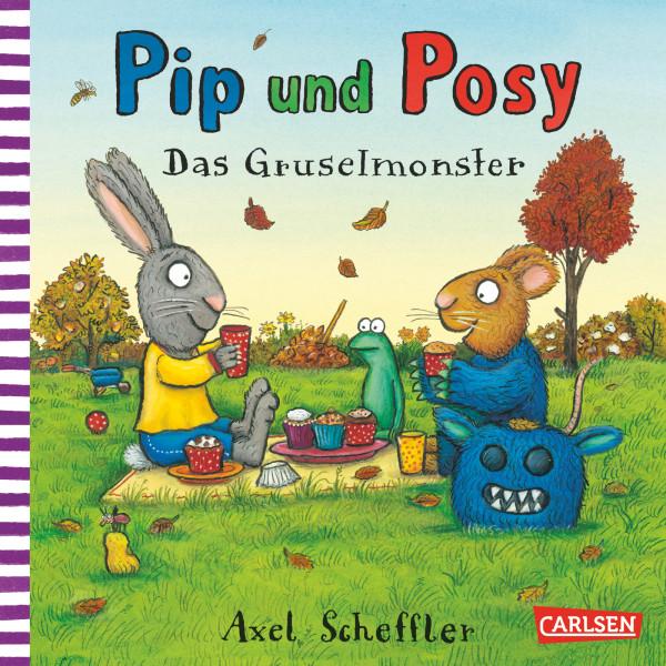 Pip und Posy: Das Gruselmonster book cover